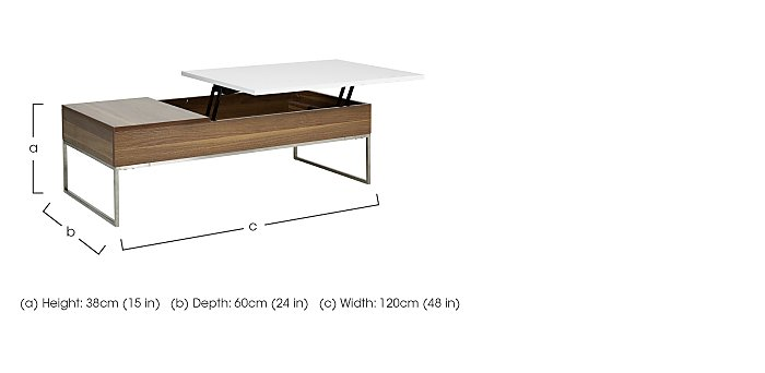 Ravello Coffee Table in  on Furniture Village