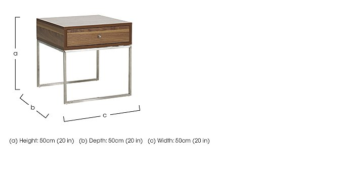 Ravello Lamp Table in  on Furniture Village
