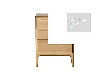 Rimini 3 Drawer Bedside Cabinet in  on Furniture Village