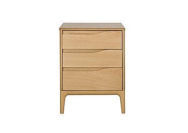 Rimini 3 Drawer Bedside Cabinet in  on Furniture Village
