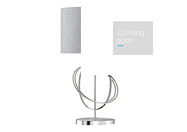 Rings Table Lamp in  on Furniture Village