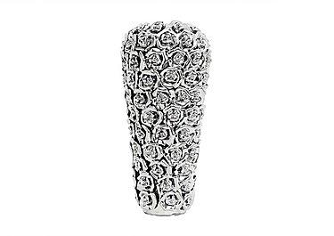 Rose Vase Silver in  on Furniture Village
