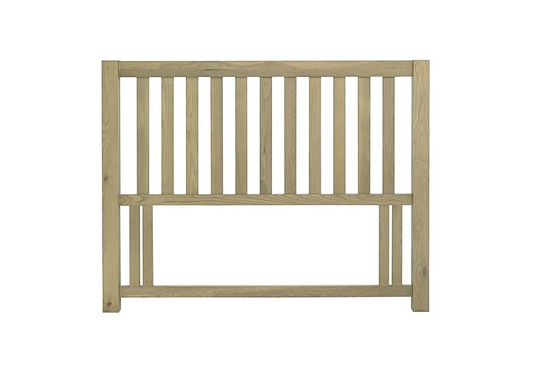 Roble Double Slatted Headboard - Limited Stock! in  on Furniture Village