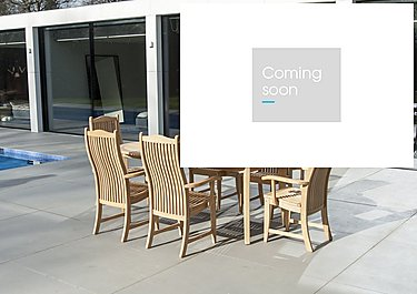 Roble 8 Seater Extending Dining Set in  on Furniture Village