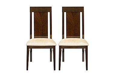 Rossini Pair of Capri Dining Chairs in  on Furniture Village