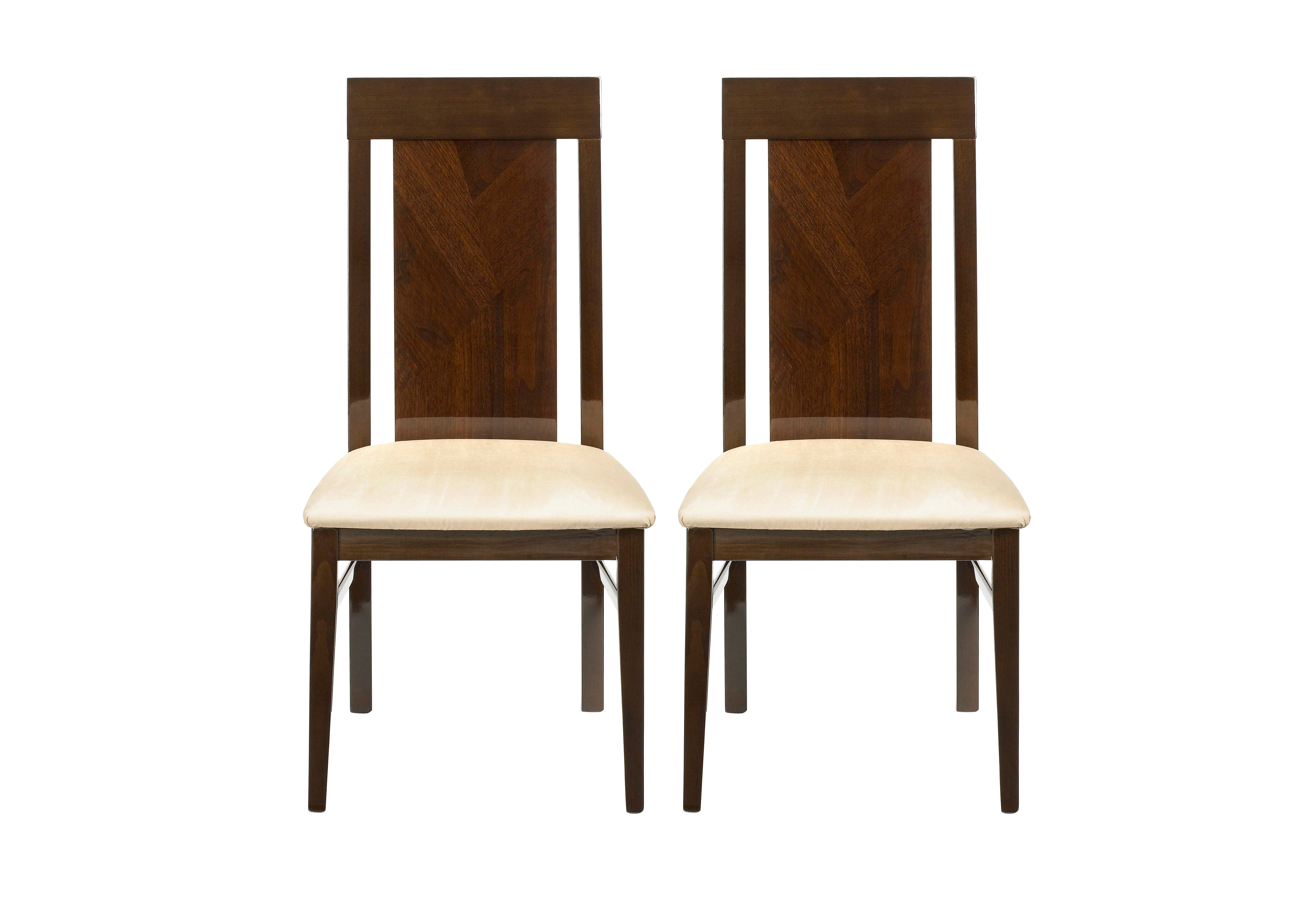 Rossini Pair of Capri Dining Chairs ALF Furniture Village