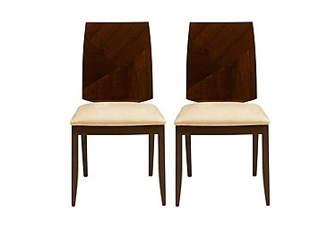 Rossini Pair of Dining Chairs in  on Furniture Village