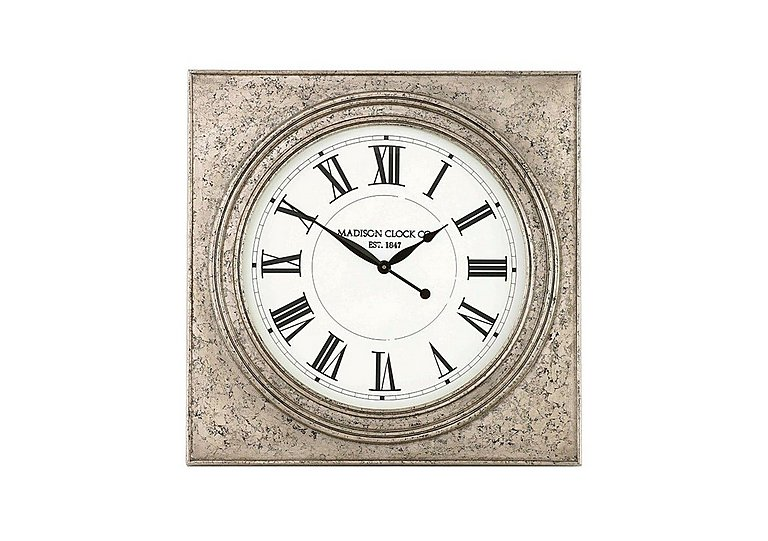 Roza Wall Clock in  on Furniture Village