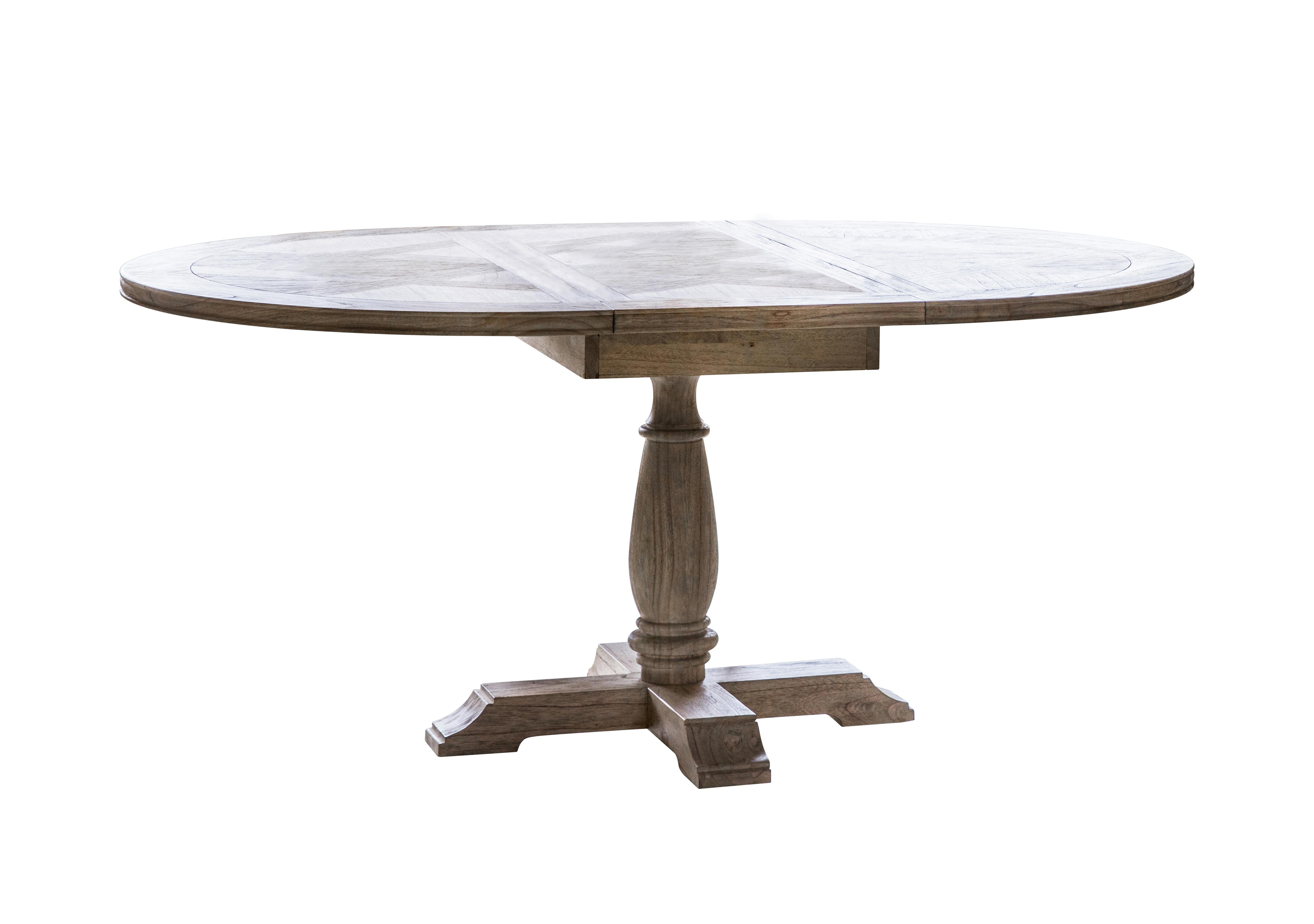 Riviera Round Extending Dining Table Furniture Village