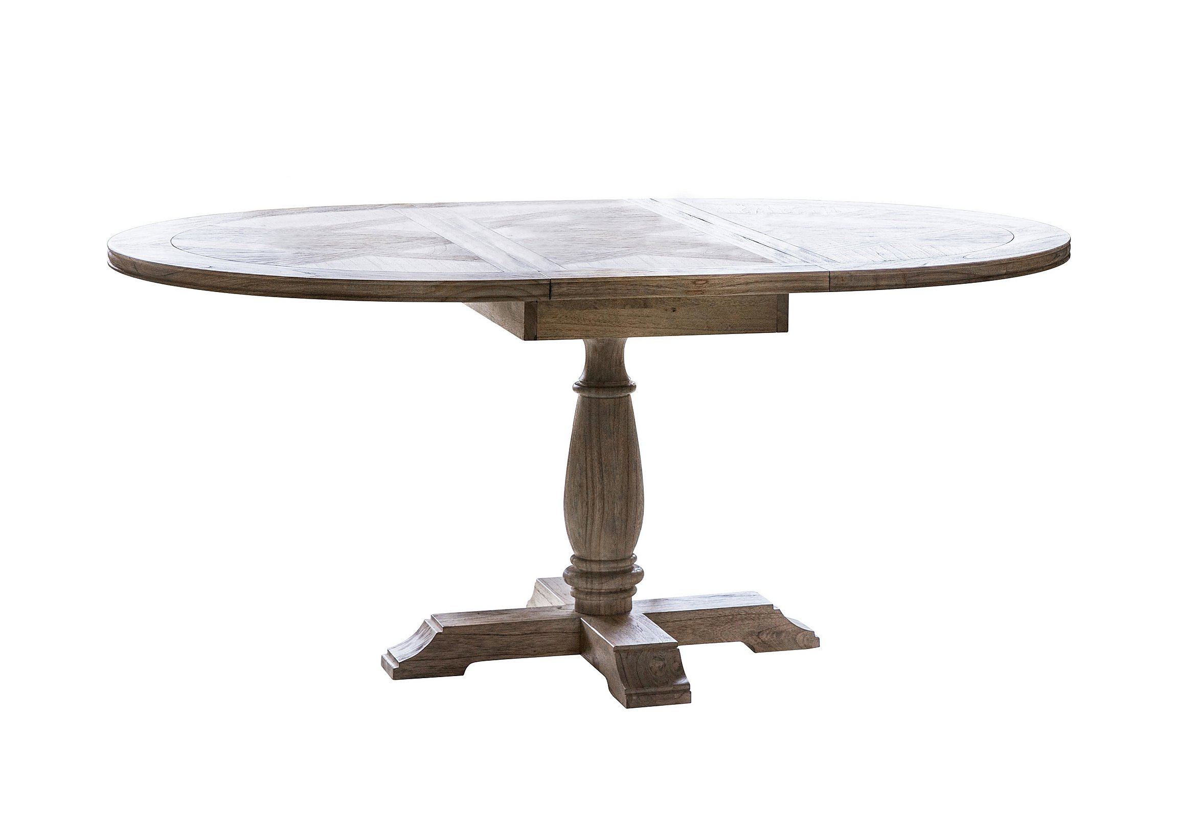 Unique Round Dining Table That Extends Light Of Dining Room