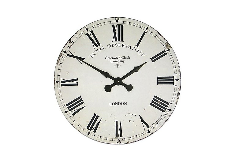 Royal Observatory Clock Cream in  on Furniture Village