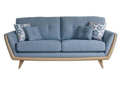 Outstanding Scandi 3 Seater Sofa Nathan Furniture Village Home Interior And Landscaping Mentranervesignezvosmurscom
