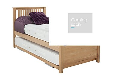 Sleepover Bed Frame with Pocket Mattress in  on Furniture Village