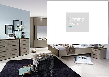 Rauch Seta Double Bed Frame in  on Furniture Village