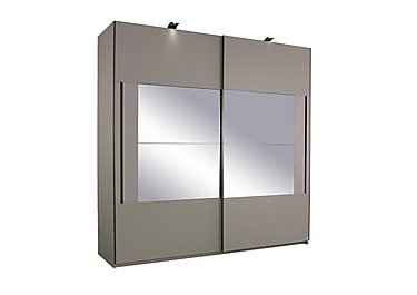 Rauch Seta 2 Door Slider Wardrobe in  on Furniture Village