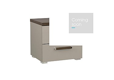 Rauch Seta 2 Drawer Bedside Table in  on Furniture Village