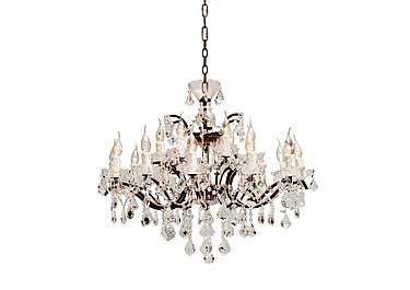 Shaftesbury Chandelier in  on Furniture Village