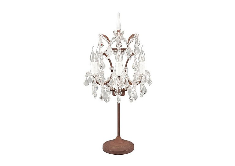 Shaftesbury Chandelier Table Lamp in  on Furniture Village