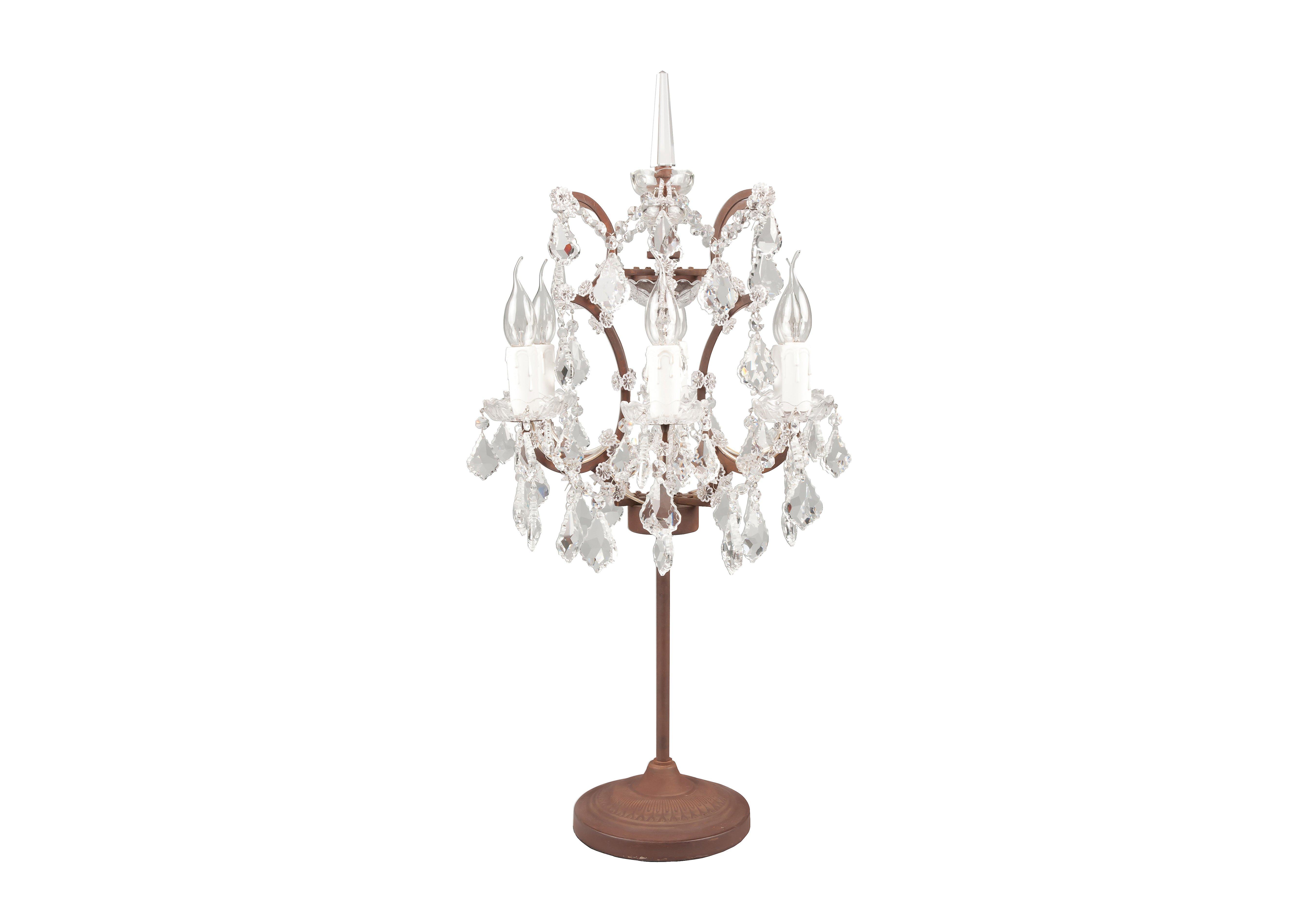 Shaftesbury Chandelier Table Lamp Halo Furniture Village