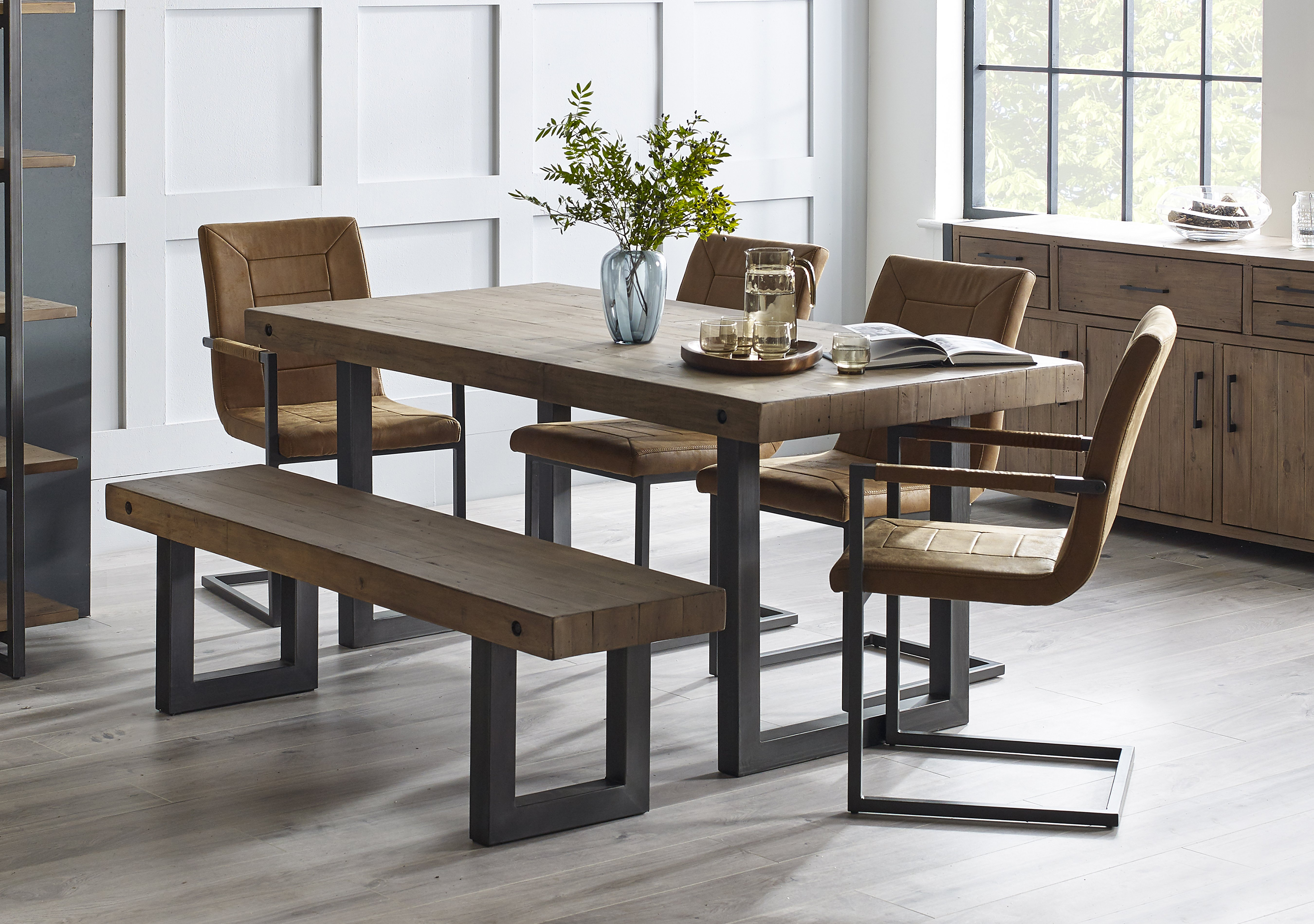 Shoreditch Dining Table Furniture Village