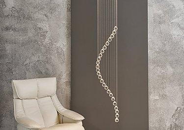Spiral 5 Light Pendant in  on Furniture Village