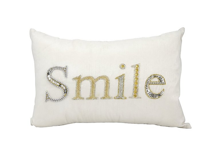 Smile Cushion in  on Furniture Village