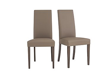 Soprano Pair of Dining Chairs in  on Furniture Village