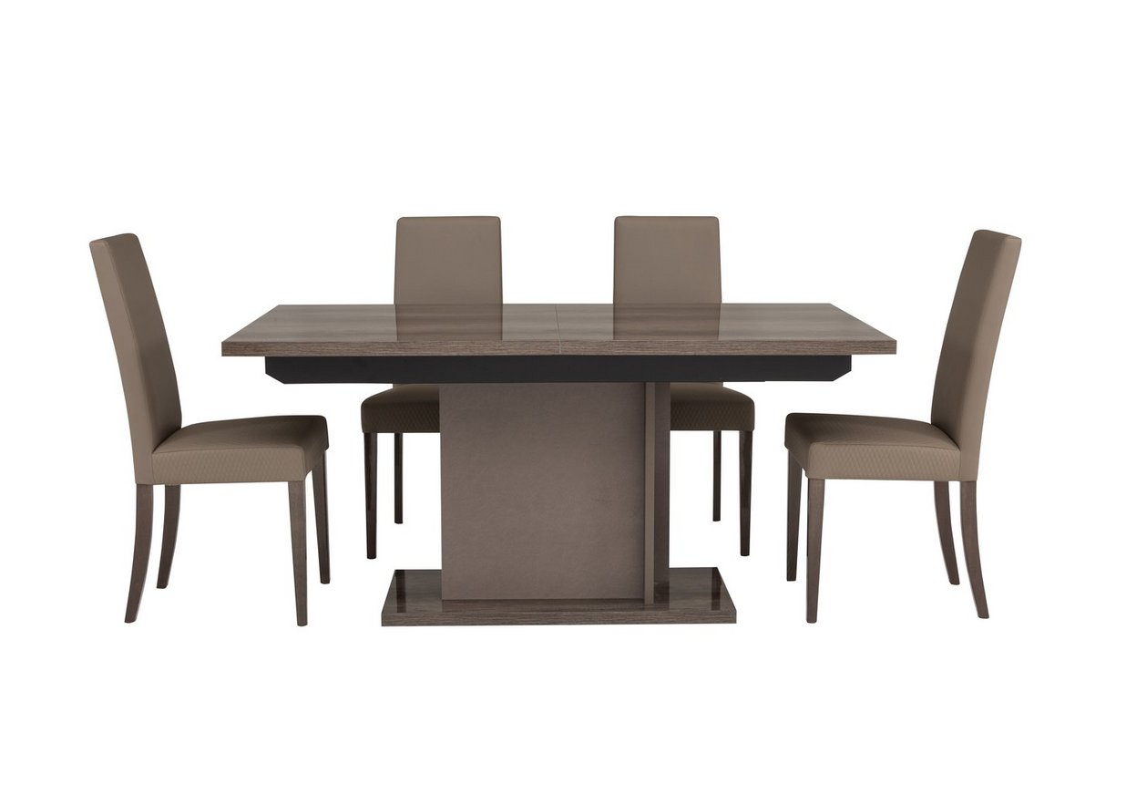 Soprano Extending Dining Table And 4 Chairs Alf Furniture Village
