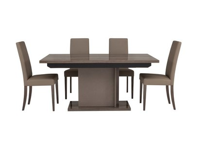 Fine Soprano Extending Dining Table And 4 Chairs Download Free Architecture Designs Viewormadebymaigaardcom