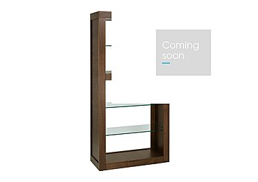 Sorrento Open Display Cabinet in  on Furniture Village