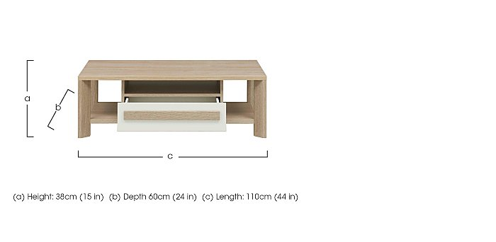 Space Coffee Table in  on Furniture Village