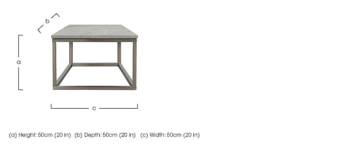 Sirocco Lamp Table in  on Furniture Village