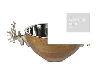 Stag Large Bowl in  on Furniture Village