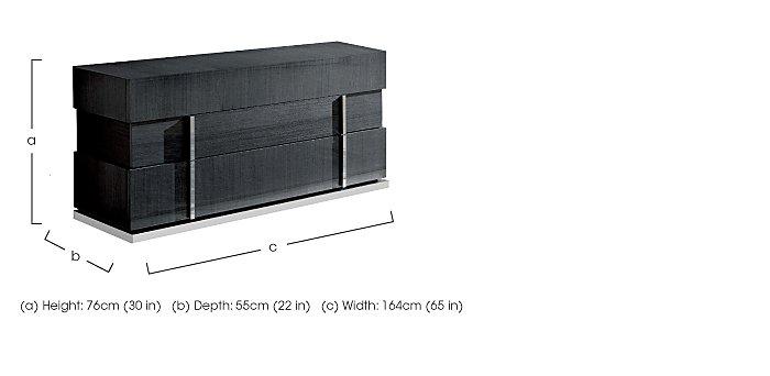 St Moritz 3 Drawer Dresser in  on Furniture Village