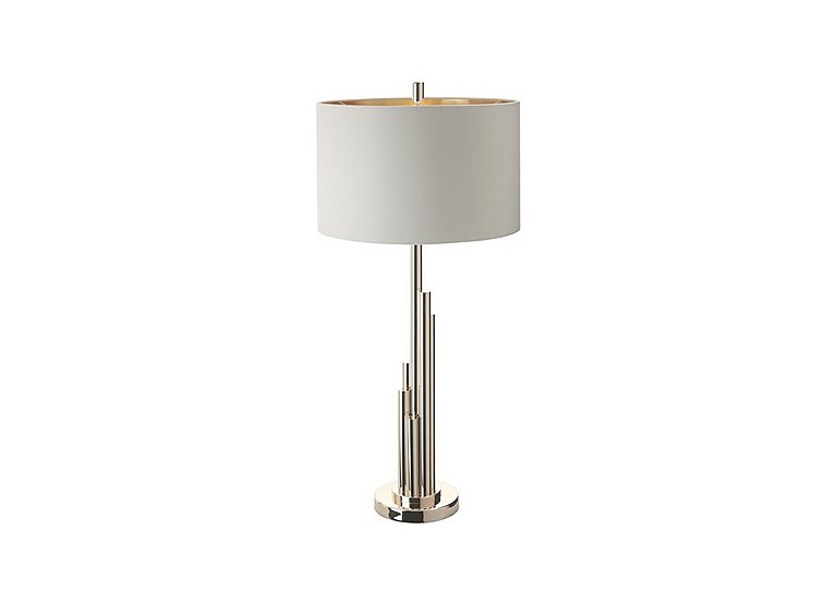 Tali Pale Gold Finish Table Lamp in  on Furniture Village