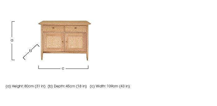 Teramo Small Sideboard in  on Furniture Village