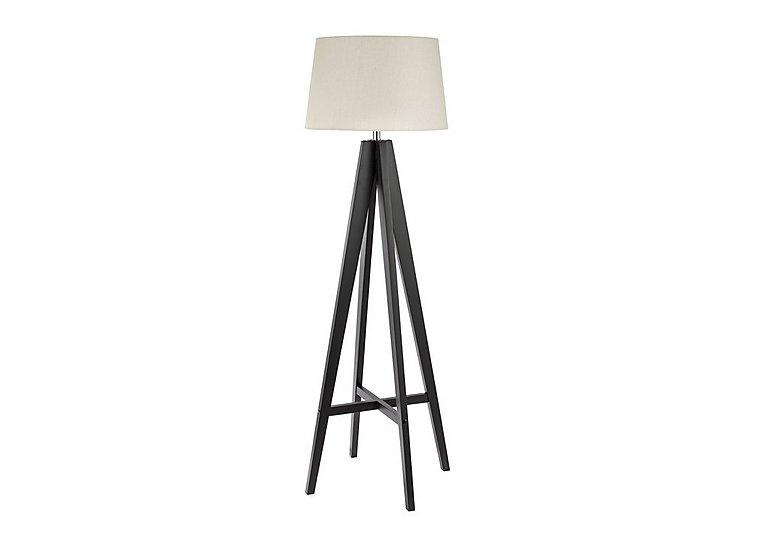 Black Tripod Floor Lamp in  on Furniture Village