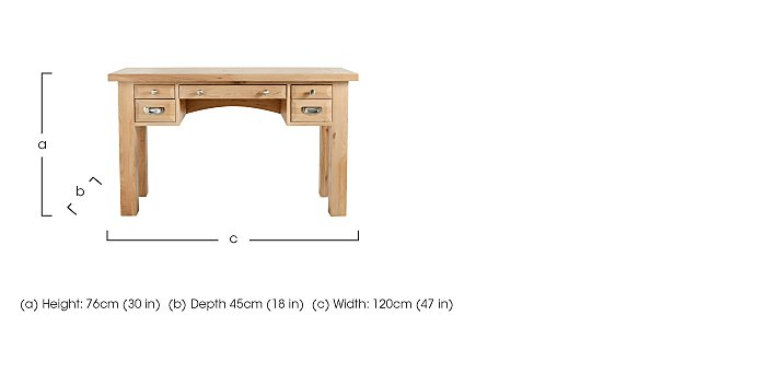 Tuscan Hills Dressing Table in  on Furniture Village