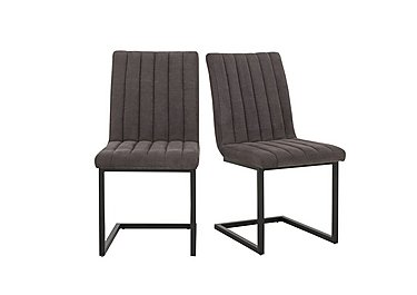 Tucson Pair of Dining Chairs in  on Furniture Village