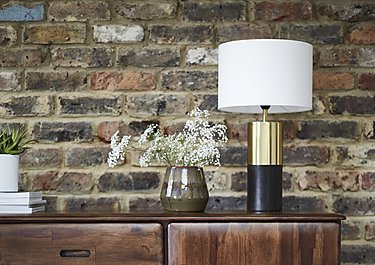 Veda Table Lamp in  on Furniture Village