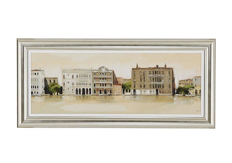 Venetian Morning Framed Picture in  on Furniture Village