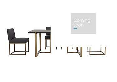 Vogue Dining Table and 4 Upholstered Chairs in  on Furniture Village