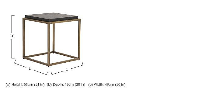 Vogue Lamp Table in  on Furniture Village