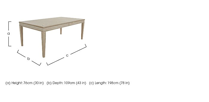 Vermont Extending Dining Table in  on Furniture Village