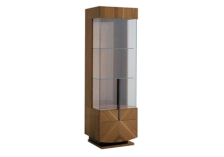 Verona 1 Door Left Hand Facing Curio Cabinet in  on Furniture Village
