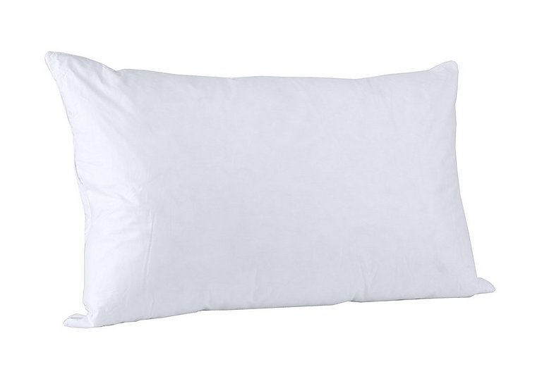Vispring White Goose Feather & Down Pillow - Only One Left! in  on Furniture Village