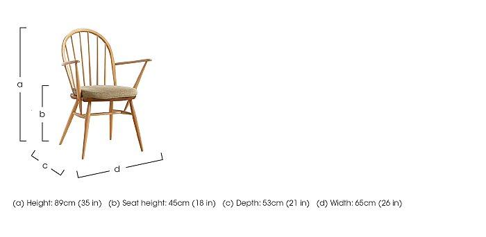 Windsor Armchair in  on Furniture Village