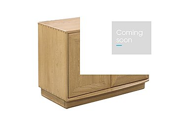 Windsor Two Door Cabinet in Straw Finish (St) on Furniture Village