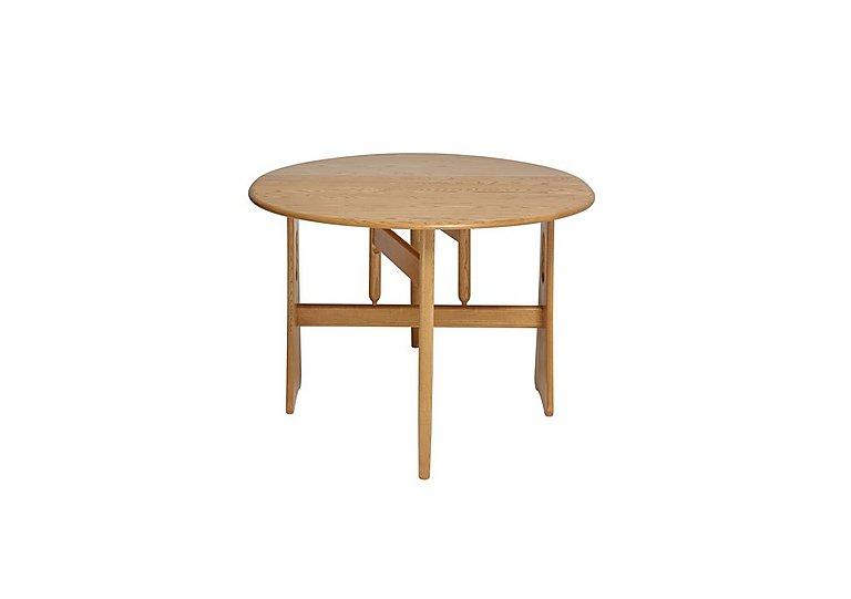 Windsor Gate Leg Table in Straw Finish (St) on Furniture Village