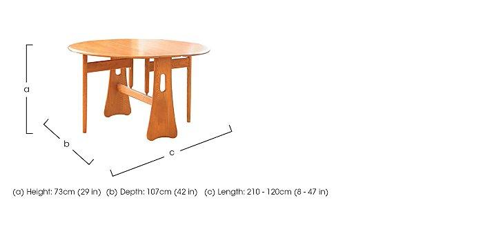 Windsor Gate Leg Table in  on Furniture Village